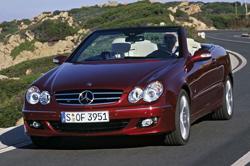 Mercedes CLK-klasse Cabrio
