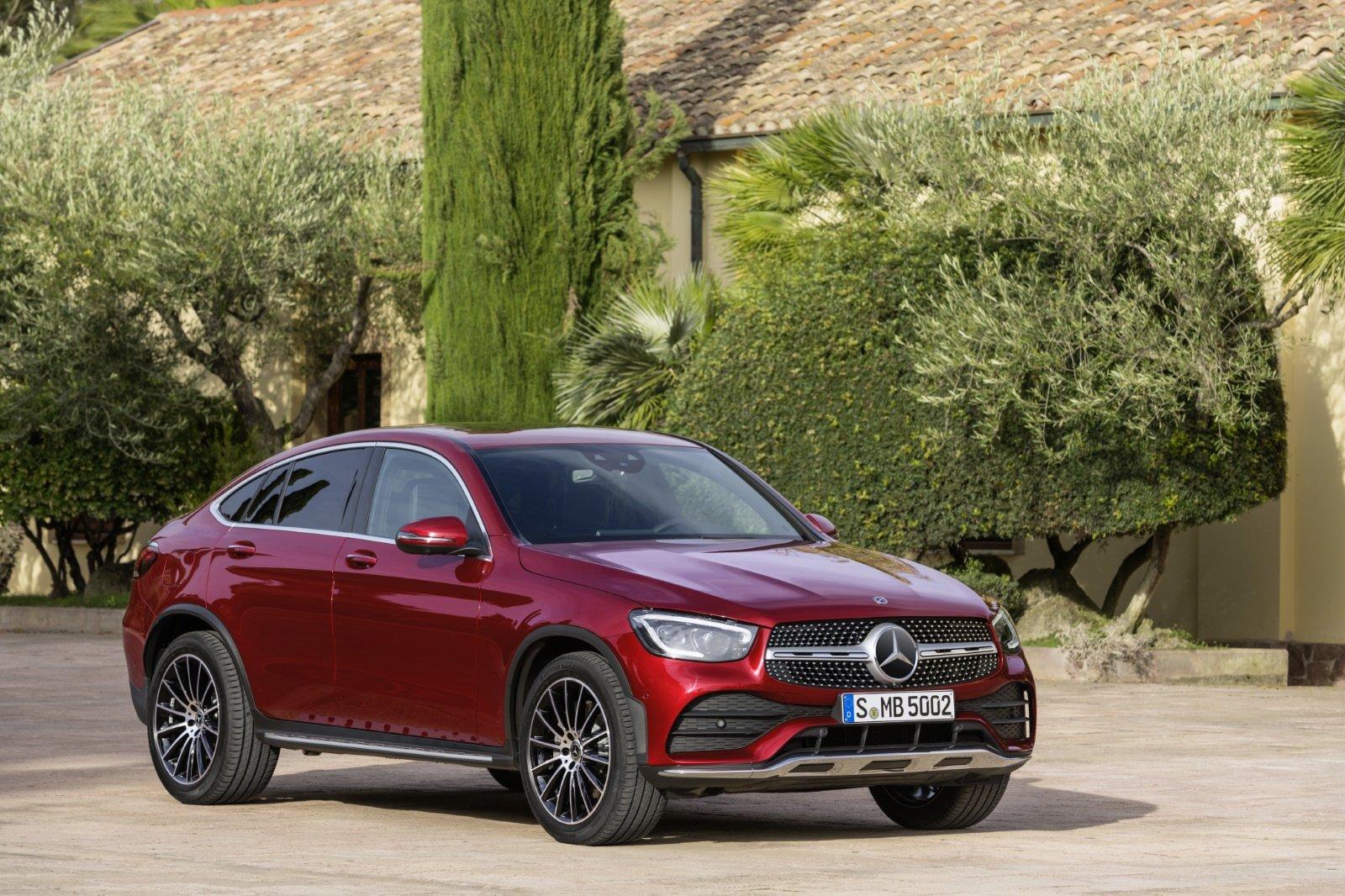 Mercedes GLC-klasse Coupé